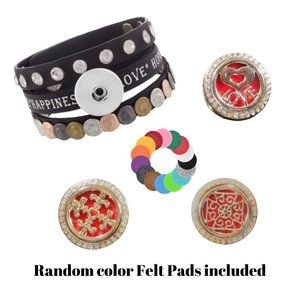 💥Special💥Snap Button Bracelet with 3 Snaps